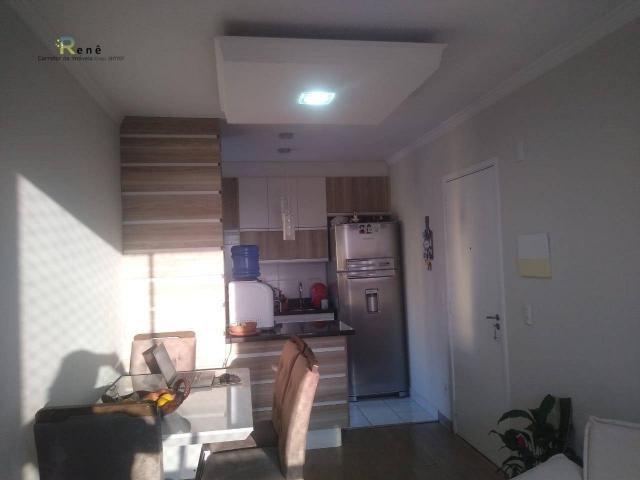 Apartamento pronto em Hortolândia Região Central- Cond. Laranjeiras - Foto 2