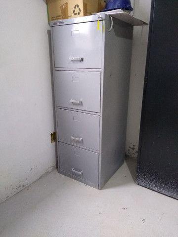 Gaveteiro arquivo pasta suspensa 4 gavetas - Foto 2