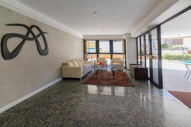 Apartamento com 3 dormitórios à venda, 223 m² por R$ 890.000 - Aldeota - Fortaleza/CE - Foto 3