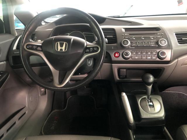 Honda Civic LXL 1.8 Aut 2010/2011 - Foto 9