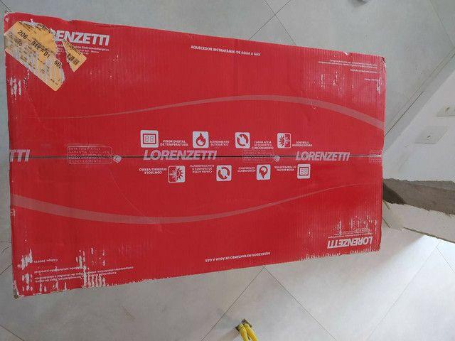Aquecedor a gás LZ2000 novo na caixa com NF