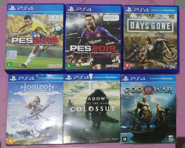 Jogos PS4  R$60,00 (cada)