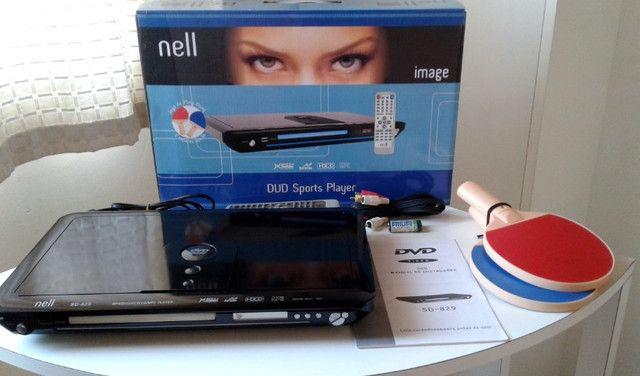 DVD Player Nell Sd-829 c/ Jogos Excelente Estado - Foto 2