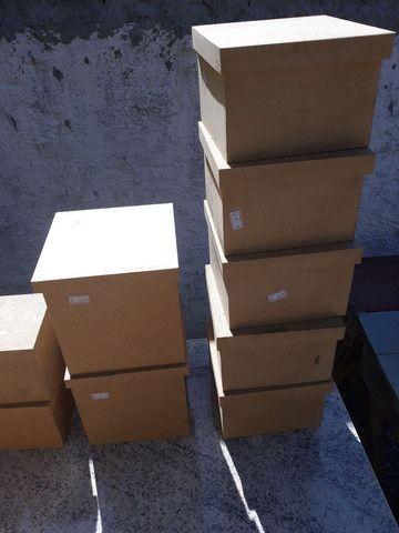 Lote de caixas de MDF para artesanato - Foto 6