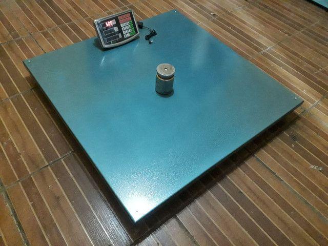 Balança Eletrônica 1000 kg 1 Tonelada Bateria/Bivolt  - Foto 2