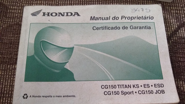 MANUAL MOTO XRE TITAN CRF230 - Foto 2