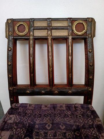 Cadeira Indiana antiga - Foto 4