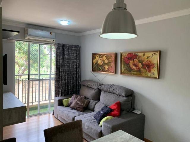 Apartamento com 2 dormitórios à venda, 60 m² por R$ 195.000,00 - Parque Residencial das Na - Foto 2