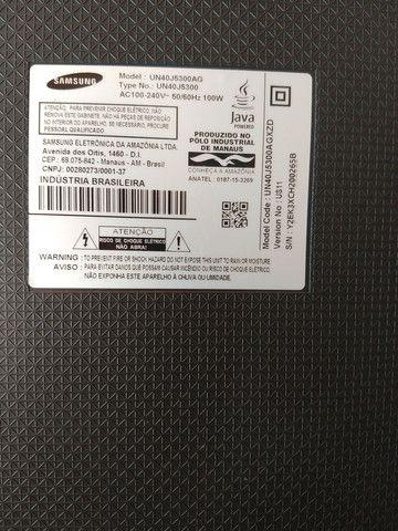 Tv Samsung un40j5300ag tela quebrada - Foto 2