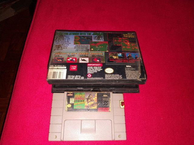 Jungle Strike super Nintendo - Foto 2