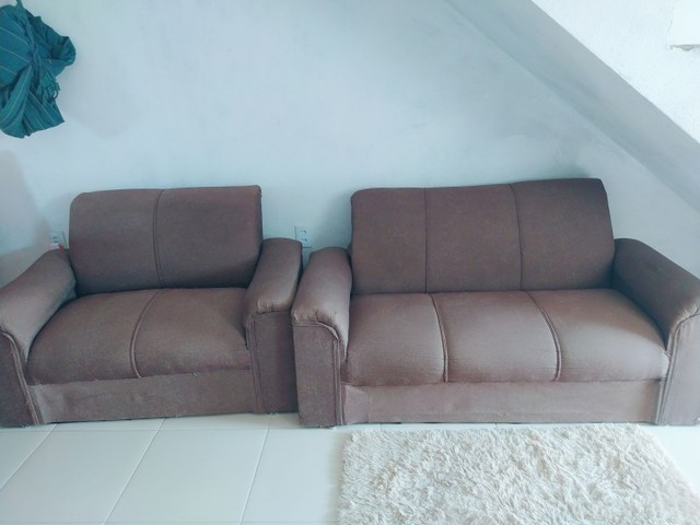 Vendo sofá 600 - Foto 3