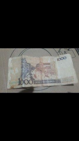 Cédulas  de dinheiro  antigo - Foto 2