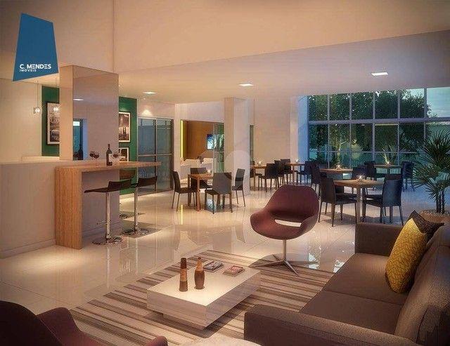 Apartamento com 3 dormitórios à venda, 75 m² por R$ 576.309,02 - Benfica - Fortaleza/CE - Foto 2