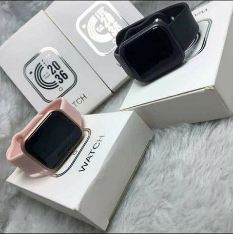 Smartwatch Y68 D20 Relogio inteligente conexão Bluetooth