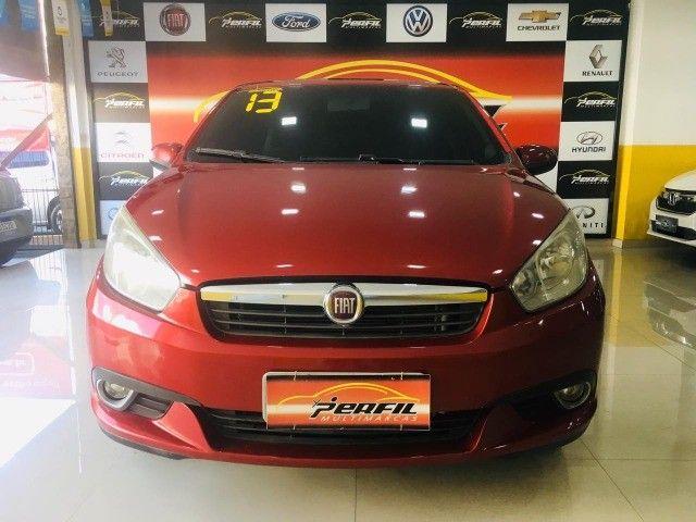 Fiat GrandSiena Attractive 1.4  2013 c/ GNV ( Sugestão 9.000 + 469,85) - Foto 2