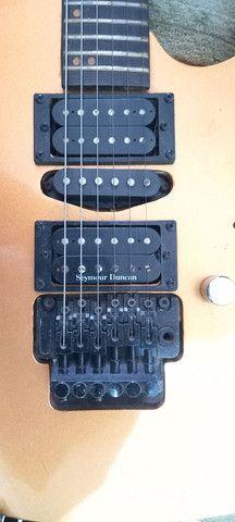 Kit guitarra usado em bom estado.(Está  tudo na descrição oque você precisa saber). - Foto 3