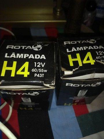 Vende se 2 lâmpada Branca H4  - Foto 2