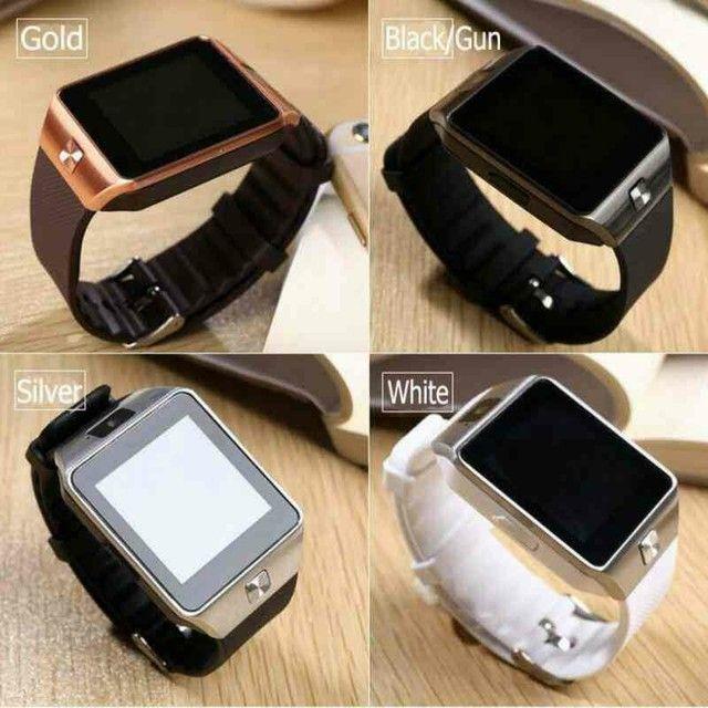 Relógio Smartwatch DZ09 - atenda ligações sem pegar no celular - Foto 2