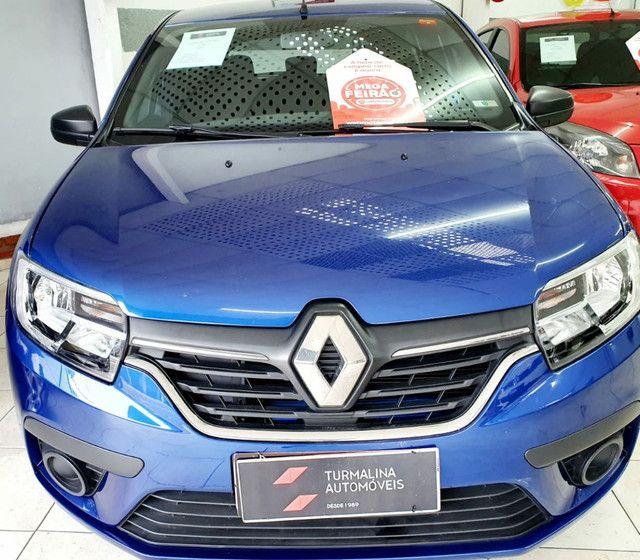 Renault Sandero Life 1.0 completo, 2020,oportunidade!!! - Foto 4