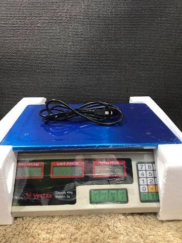 Promoção Balança Digital Comercial Capac. 40kg, Nova, Entregamos