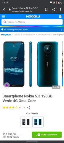Nokia 5.3 semi novo