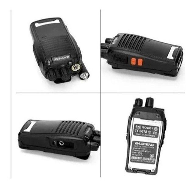 Rádio Comunicador Walk Talk Baofeng 777s Kit 1 Par - Foto 3