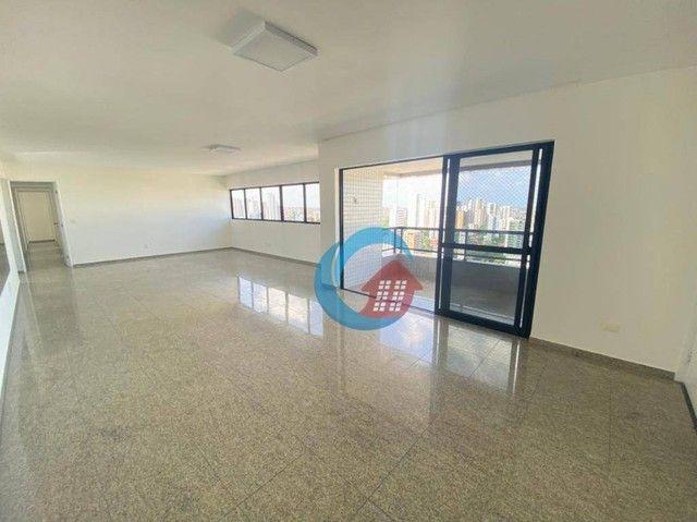 Apartamento com 4 quartos para alugar, 210 m² por R$ 6.500/mês - Casa Forte - Recife/PE - Foto 2