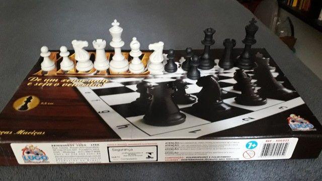 Jogo de Xadrez Completo - Foto 2