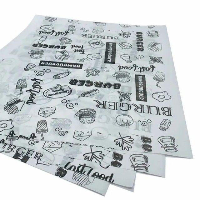Saco Kraft personalizado. Caixa de batata. Papel Acoplado. Adesivo. Embalagem  - Foto 4