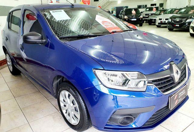 Renault Sandero Life 1.0 completo, 2020,oportunidade!!! - Foto 2