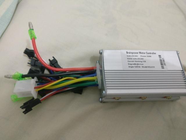 Modulo controlador bicicleta eletrica 36v 350w