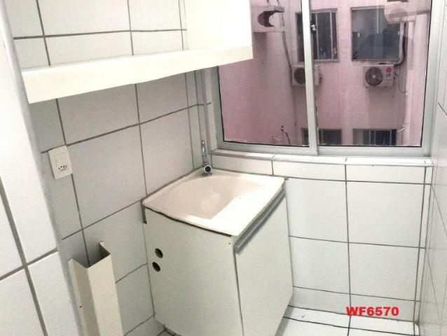 AP1052 Aimará, apartamento com 2 quartos, 1 vaga, condomínio no Cambeba, campo de futebol - Foto 9