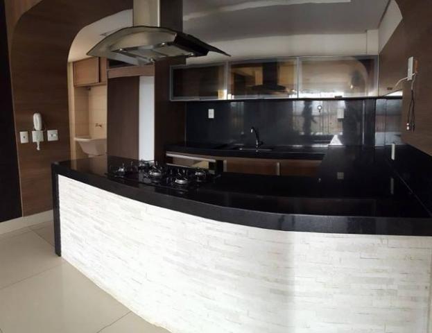 Real Park - Apartamento 3 quartos, 90 m² c/ armários e ar na 106 Norte