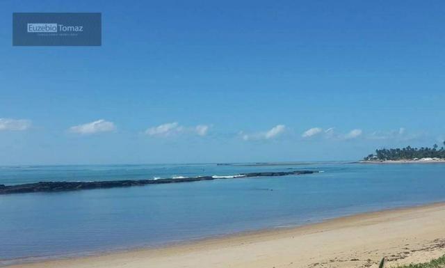 Terreno em condomínio fechado à beira mar no sonho verde