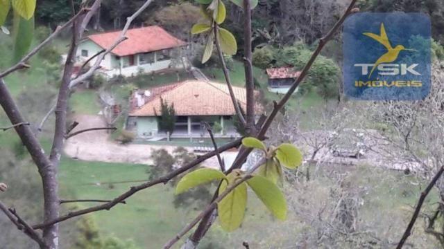 Ch0275 chácara areia branca mandirituba, frente asfalto, linda propriedade
