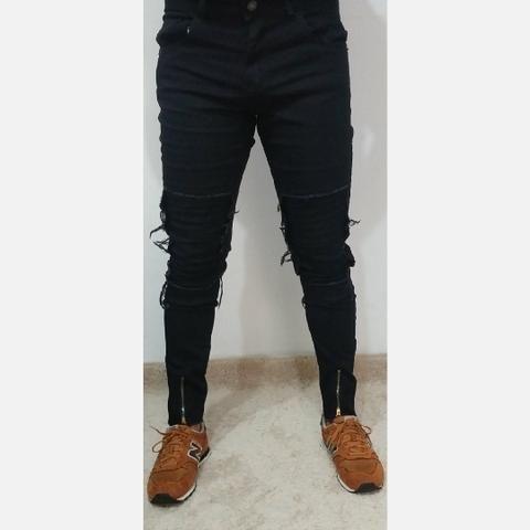 Calças Masculinas com Zíper - Foto 4
