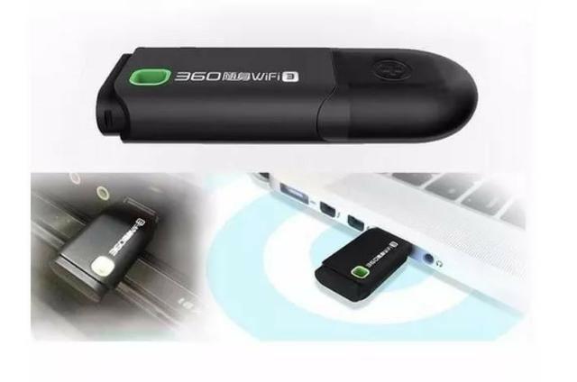 COD-AP27 Mini Roteador Adaptador Usb Wireless Nano Wi-fi 360 Automação