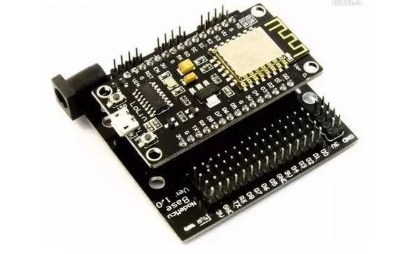 COD-AM129 Placa Base Nodemcu Shield Adaptador Esp8266 Arduino Automação Robotica - Foto 3