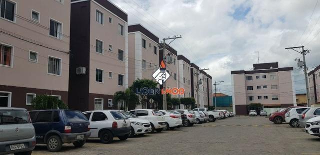Líder imob - apartamento 2 quartos semi-mobiliado para aluguel, no sim, em feira de santan