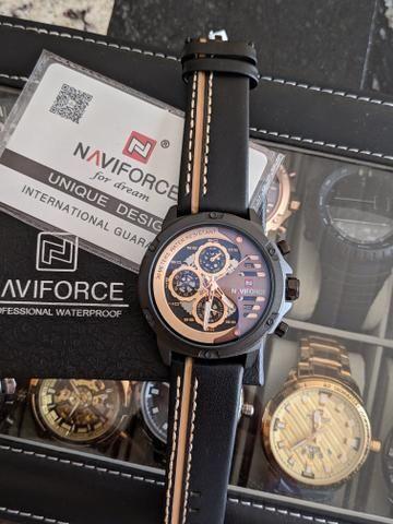 8403be5f75c Relógios importados Naviforce - Bijouterias