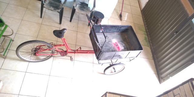 Bicicleta triciclo pra trabalhar