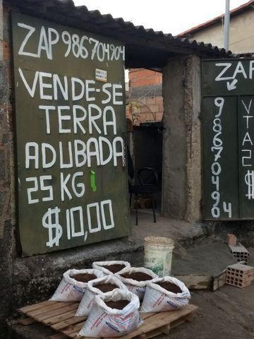 Terra adubada bh 25kilos de terra adubada por $10,00 somente no local zap * - Foto 5