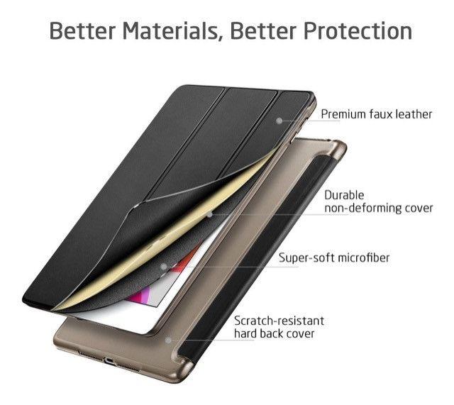 Capa Preta para iPad 10.2 7 geração ou pro - Foto 2