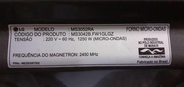 Barbada Micro-ondas LG 30L Easyclean - Foto 5