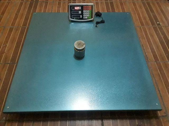 Balança Eletrônica 1000 kg 1 Tonelada Bateria/Bivolt