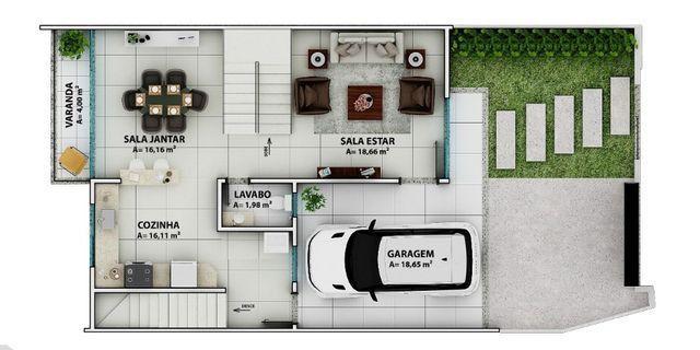 Viva Urbano Imóveis - Casa no Jardim Suiça - CA00216 - Foto 4