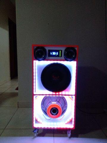 Caixa de som residencial potente - Foto 6