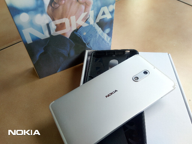 Smartphone Nokia 6 Android 9 Pie-Prata LTEDualSim/4GB Ram/64GB Rom/16MP Camera/Tela 5.5 HD - Foto 3
