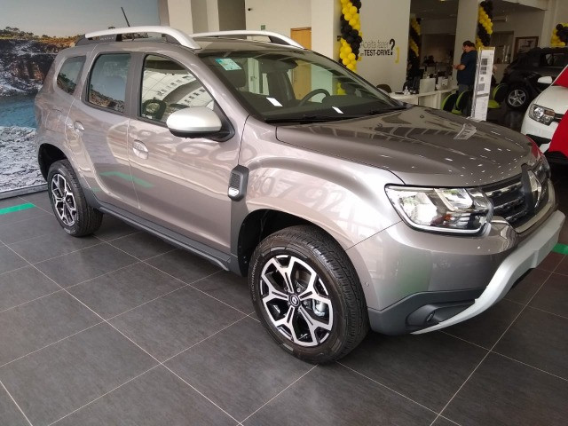 Duster Iconic Cinza - Foto 9