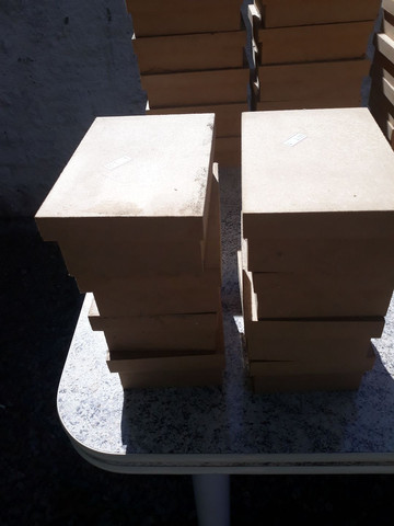 Lote de caixas de MDF para artesanato - Foto 4